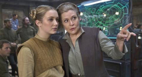 Star Wars - Billie Lourd y Carrie Fisher