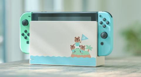 Switch dock Animal Crossing