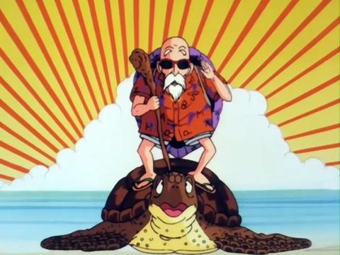 La Tortuga de Mutenroshi