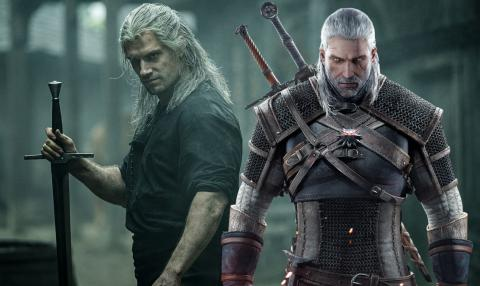 Witcher serie vs juego