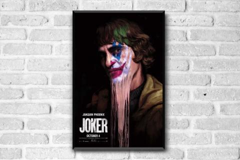 5 espectaculares pósters del Joker para celebrar el Oscar de Joaquin Phonenix