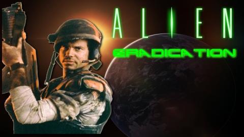 Aliens Eradication mod Doom 2