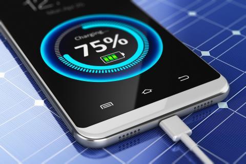 cargar batería de un móvil