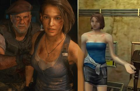 diferencias RE3 Remake