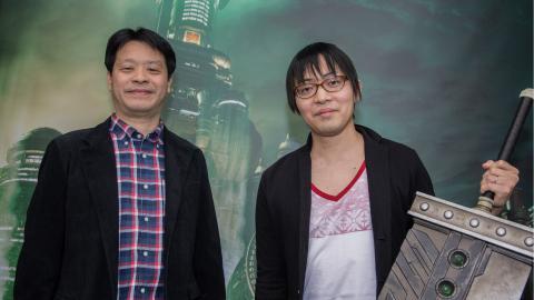 Final Fantasy 7 Remake entrevista