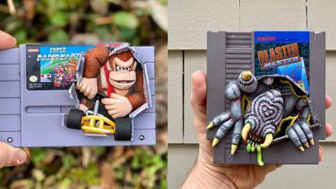 Esculturas NES