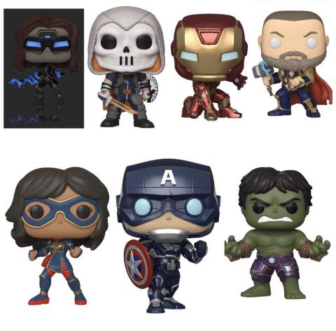Marvel's Avengers Figuras