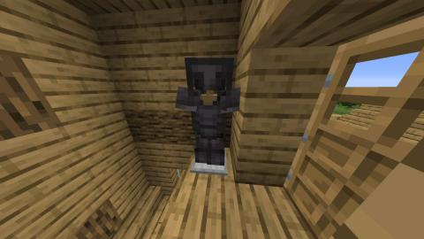 How to make an armor stand in Minecraft 2021