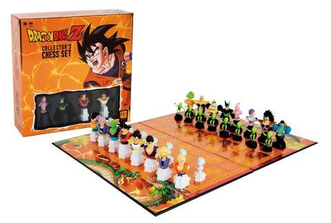 El nuevo ajedrez de Dragon Ball Z