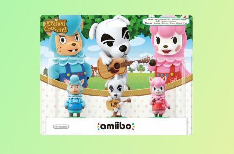 Pack 3 Figuras Amiibo (Totakeke, Al, Paca)