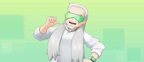 Nuevo Profesor Oak Pokémon Home