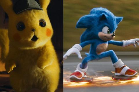 Sonic y Detective Pikachu