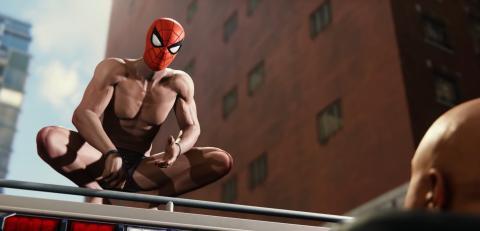 pezones Spider-man PS4