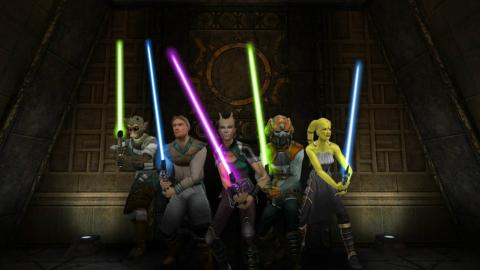 Star Wars Jedi Academy PS4 Switch analisis