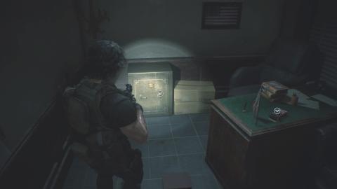 caja fuerte comisaría Resident Evil 3 EMBARGO