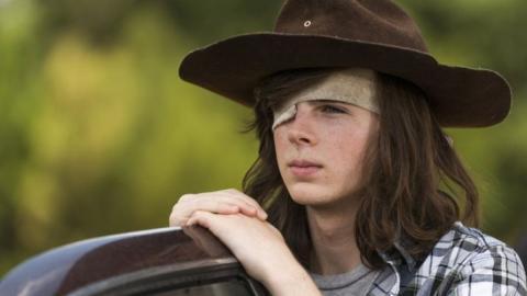 Carl Grimes en The Walking Dead