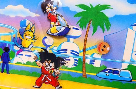 Dragon Ball - Los dioramas de Danone