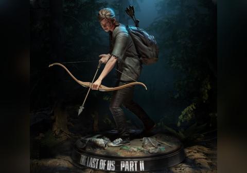 Figura de Ellie en The Last of Us II