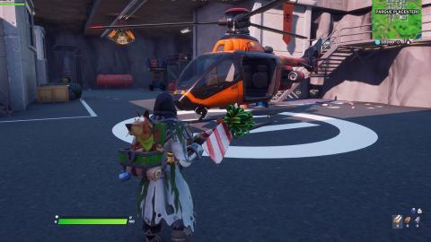 Helicópteros Choppa en Fortnite