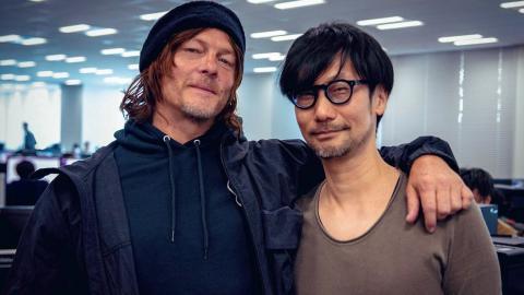 Hideo Kojima y Norman Reedus