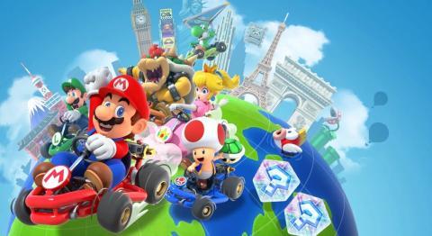 Mario Kart Tour modo multijugador online