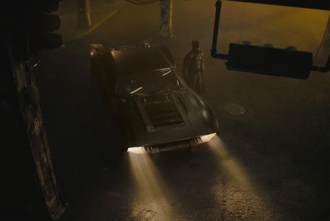 Primeras fotos del nuevo Batmóvil que llevará Robert Pattinson en 'The Batman'