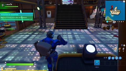 Dance at the Deadpool Fortnite yacht party
