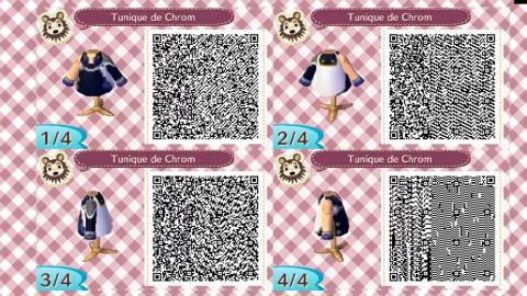 Códigos QR Final Fantasy Animal Crossing New Horizons