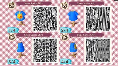 Códigos QR Mario y Sonic Animal Crossing New Horizons