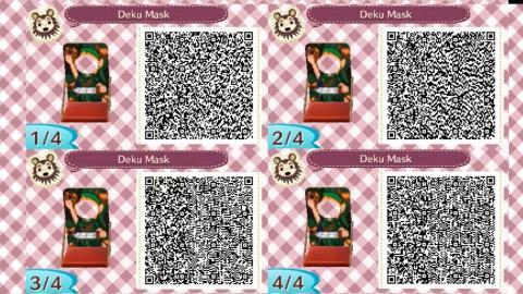 Códigos QR Zelda Animal Crossing New Horizons
