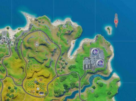 Deadpool Fortnite Yacht Party Map