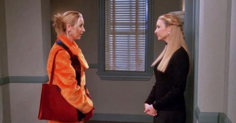 Friends - Phoebe y Ursula