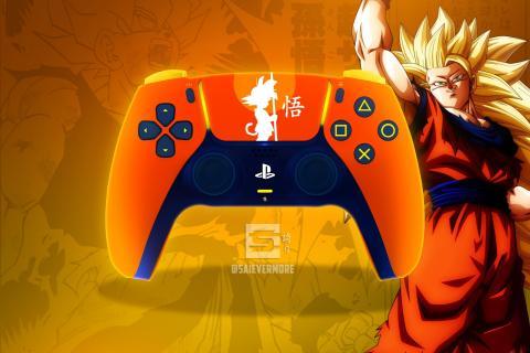 Los mandos de PlayStation 5 de Dragon Ball