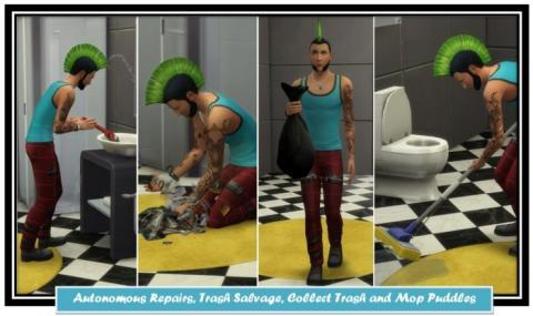 The mods The Sims 4