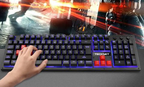 Teclado gaming Tecknet