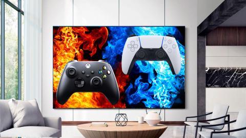 televisor para jugar a la ps5 y xbox series x