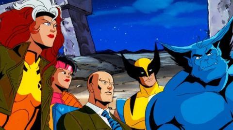 X-Men serie de animación