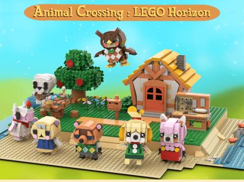 Animal Crossing New Horizons LEGO