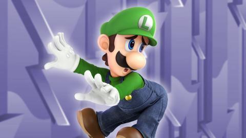 Qué es buffear y nerfear - Luigi en Smash Bros