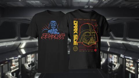 Camisetas de Darh Vader y Star Wars