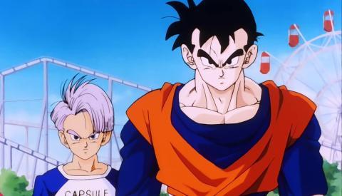 Dragon Ball Z - Un futuro diferente Gohan y Trunks