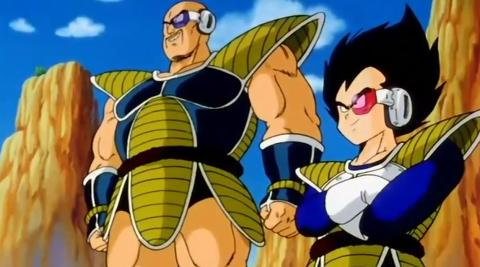 Dragon Ball Z - Vegeta y Nappa