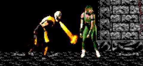 Así era Mortal Kombat en Master System