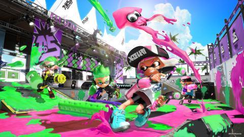 Nintendo Zoom Splatoon 2