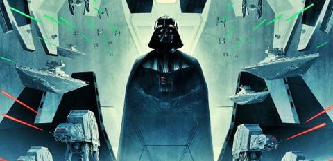 Nuevo póster Star Wars El Imperio contraataca