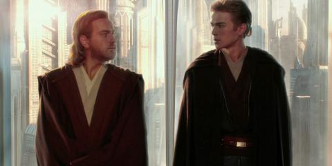 Obi-Wan Kenobi y Anakin Skywalker