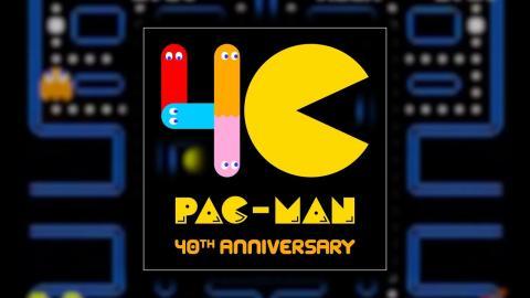 pac man 40 anniversary