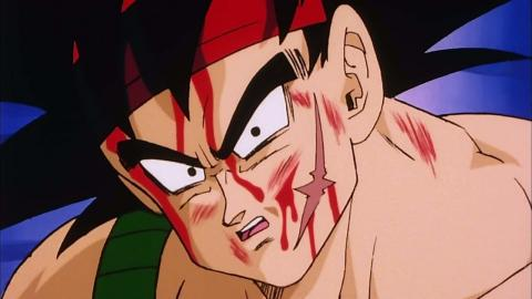 El reencuentro de Bardock y Goku