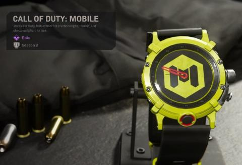Reloj Call of Duty Mobile
