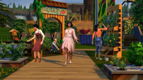 Los Sims 4 pack Vida Ecologica